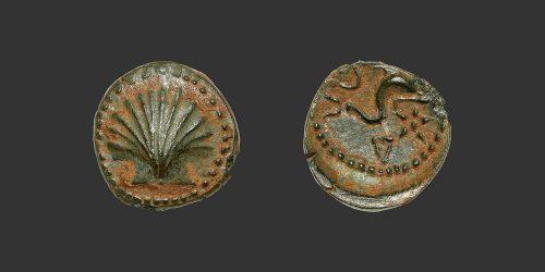 Odysseus numismatique monnaie grecque Ibérie Arse Sagunto sextans