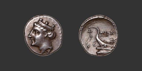 Odysseus numismatique monnaie grecque Paphlagonie Sinope hemidrachme