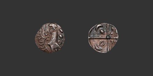Odysseus numismatique monnaie gauloise Rutènes obole