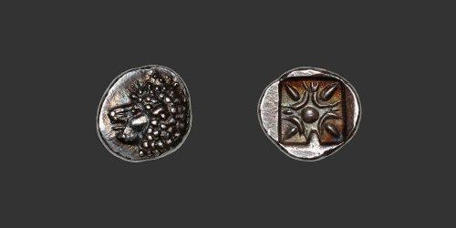 Odysseus numismatique monnaie grecque Ionie Milet obole