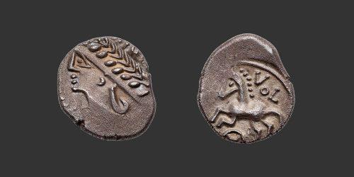 Odysseus Numismatique Monnaies Gauloises ALLOBROGES • Quinaire Denier