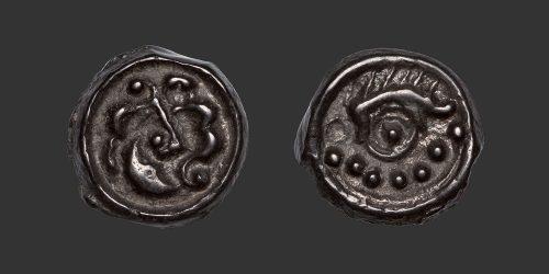 Odysseus Numismatique Monnaies Gauloises BELLOVAQUES • Potin