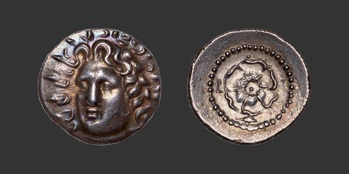 Odysseus Numismatique Monnaies Grecques Carie Rhodes drachme