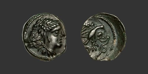 Odysseus Numismatique Monnaies Gauloises CARNUTES • Bronze