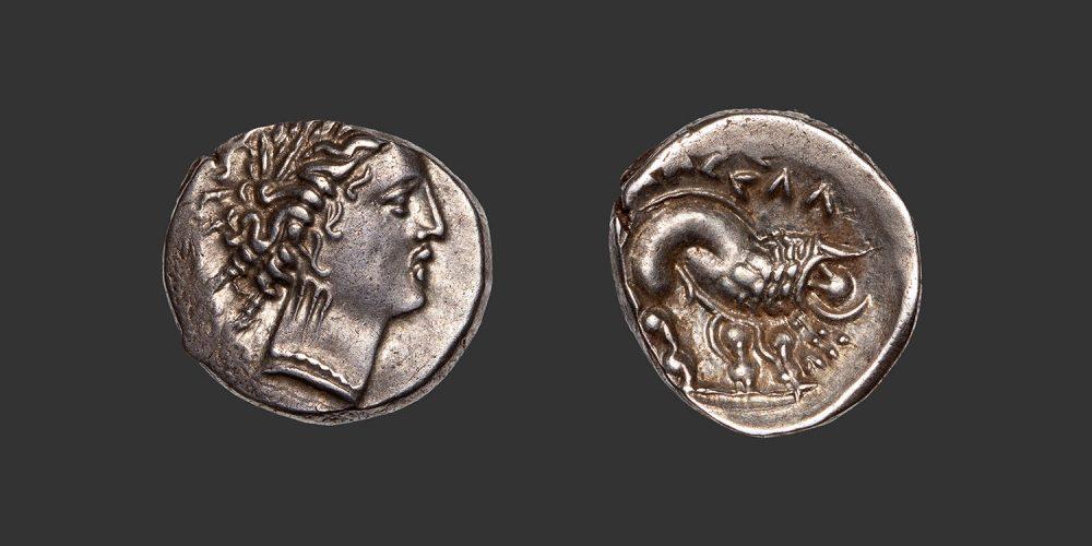 Odysseus Numismatique Monnaies Gauloises CELTO-LIGURES • Drachme Marseille