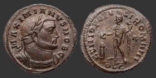 Odysseus Numismatique Monnaies Romaines GALÈRE MAXIMIEN • Follis