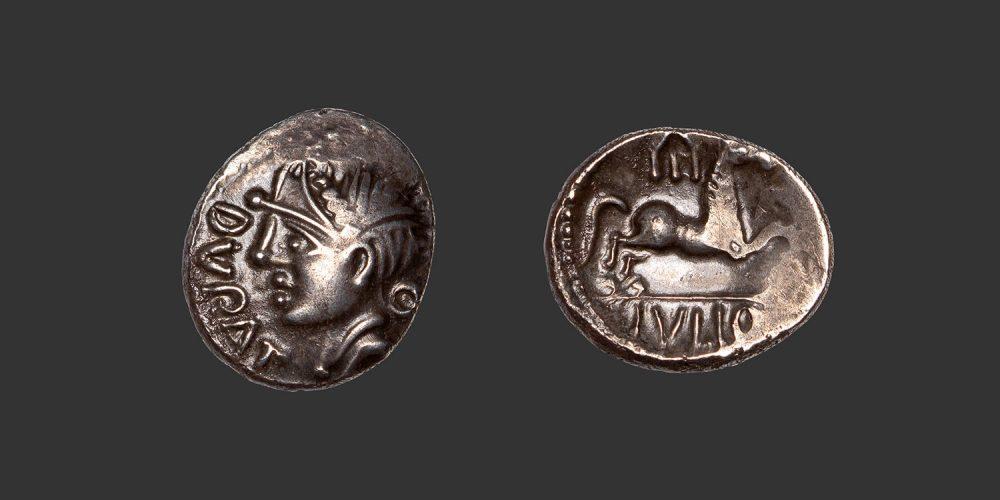 Odysseus Numismatique Monnaies Gauloises PICTONS • Quinaire Denier