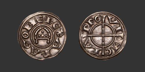 Odysseus Numismatique Monnaies Féodales PROVENCE - ALPHONSE Ier & RAYMOND DE BOLLÈNE • Denier