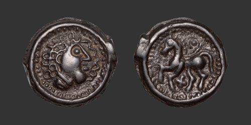 Odysseus Numismatique Monnaies Gauloises SUESSIONES • Potin