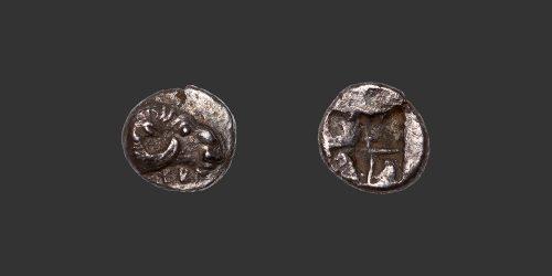 Odysseus Numismatique Monnaies Grecques Troade Kebren obole