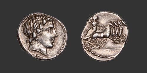 Odysseus Numismatique Monnaies Romaines République ANONYME • Denier
