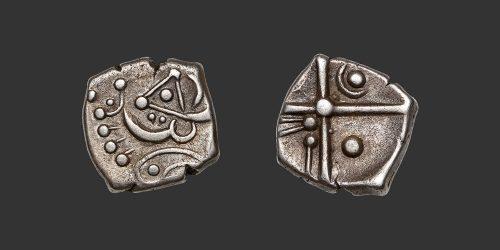 Odysseus numismatique monnaie gauloise Cadurques Volques drachme