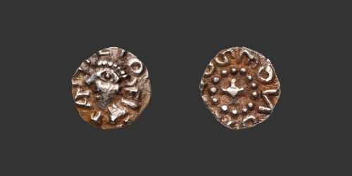 Odysseus Numismatique Monnaies Mérovingiennes MÉROVINGIENS - ANICIUM - LE PUY • Trémissis Triens