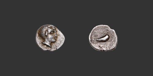 Odysseus numismatique monnaie grecque gauloise Salyens Marseille obole