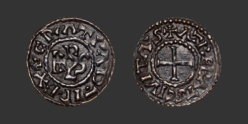 Odysseus Numismatique Monnaies Carolingiennes ARRAS - CHARLES LE CHAUVE • Denier