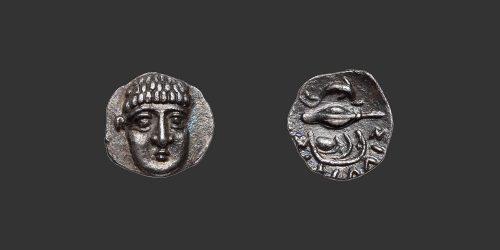 Odysseus Numismatique Monnaie Grecques Campanie Phistelia obole
