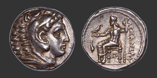Odysseus Numismatique Monnaies Grecques Macédoine Alexandre III Cassandre tétradrachme