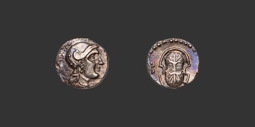 Odysseus numismatique monnaie grecque Cilicia Tarsos Balakros obole