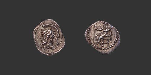 Odysseus numismatique monnaie grecque Cilicia Tarsos Pharnabazos obole