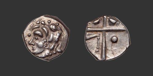 Odysseus numismatique monnaie gauloise Volques Tectosages drachme