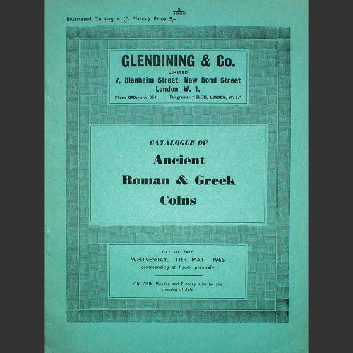 Odysseus numismatique catalogues de vente ANCIENT ROMAN & GREEK COINS Glendining 1966