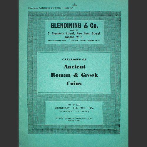 Odysseus numismatique catalogues de vente ANCIENT ROMAN & GREEK COINS Glendining 1966