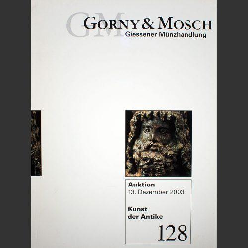 Odysseus numismatique catalogues de vente AUKTION 128 : KUNST DER ANTIKE Gorny & Mosch 2003