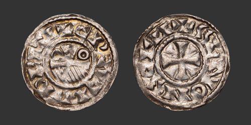 Odysseus Numismatique Monnaies Féodales CHAMPAGNE - PROVINS ET SENS • Denier