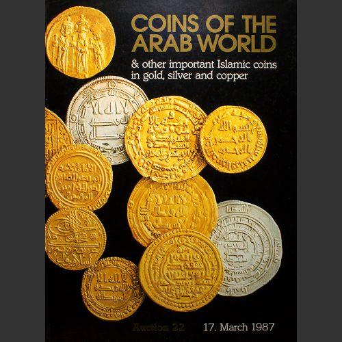 Odysseus numismatique catalogues de vente COINS OF THE ARAB WORLD Spink & Son 1987