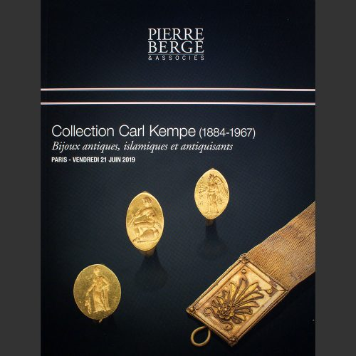 Odysseus numismatique catalogues de vente COLLECTION CARL KEMPE : BIJOUX ANTIQUES Pierre Bergé 2019