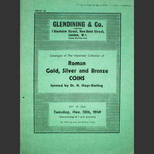 Odysseus numismatique catalogues de vente IMPORTANT COLLECTION OF ROMAN COINS Glendining 1949