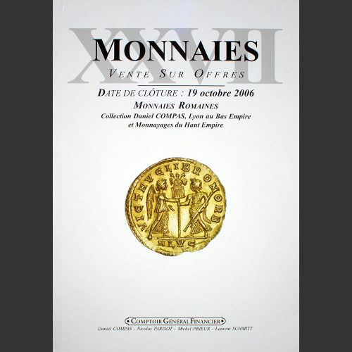 Odysseus numismatique catalogues de vente MONNAIES 27 : COLLECTION COMPAS CGB 2006