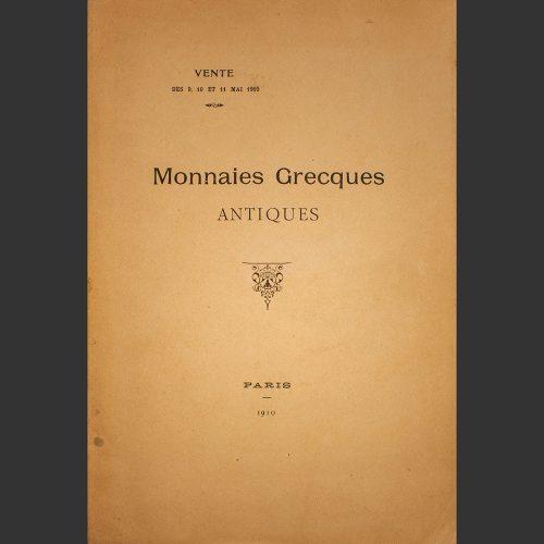 Odysseus numismatique catalogues de vente MONNAIES GRECQUES ANTIQUES Rollin & Feuardent 1910