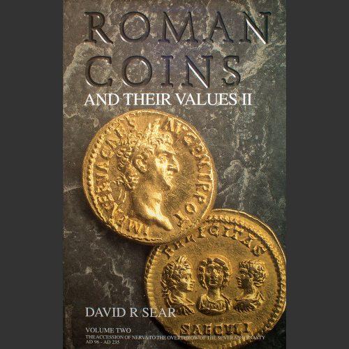 Odysseus numismatique livres monnaies romaines ROMAN COINS AND THEIR VALUES : VOLUME II David R. Sear