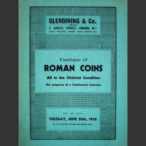 Odysseus numismatique catalogues de vente ROMAN COINS : PROPERTY OF A CONTINENTAL COLLECTOR Glendining 1938
