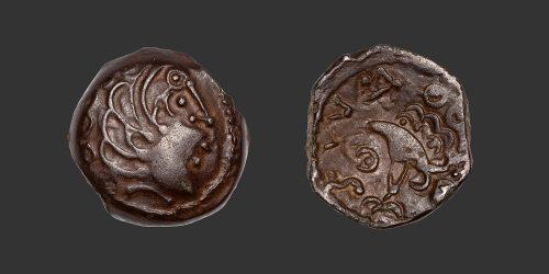 Odysseus Numismatique Monnaies Gauloises SENONES • Bronze