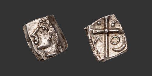Odysseus numismatique monnaie gauloise Sotiates drachme