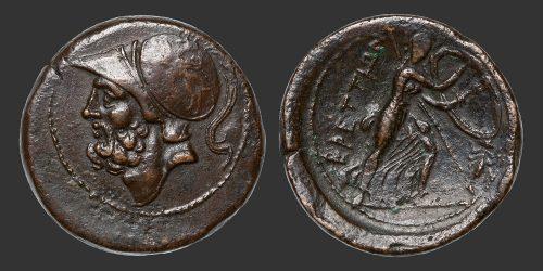 Odysseus Numismatique Monnaie Grecque BRUTTIUM - LES BRETTIENS • Bronze