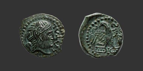 Odysseus Numismatique Monnaie Gauloise CARNUTES • Bronze