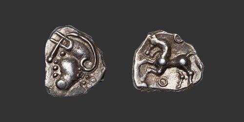 Odysseus Numismatique Monnaie Gauloise ÉDUENS • Quinaire