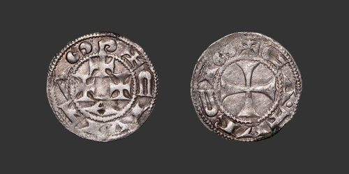 Odysseus Numismatique Monnaie Féodale LANGUEDOC - CAHORS • Denier