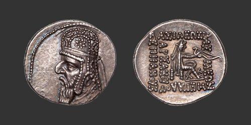 Odysseus Numismatique Monnaie Grecque PARTHES - MITHRADATES II • Drachme