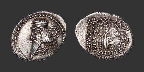 Odysseus Numismatique Monnaie Grecque PARTHES - UNKNOWN KING • Drachme