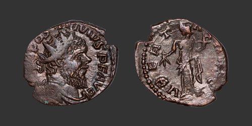 Odysseus Numismatique Monnaie Romaine POSTUME - FRAPPE BARBARE • Antoninien