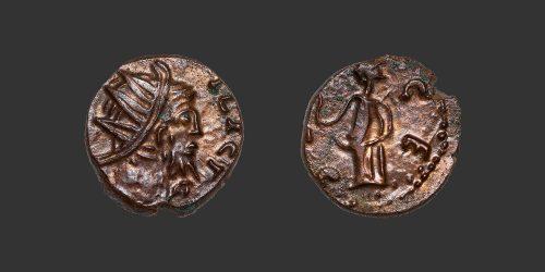 Odysseus Numismatique Monnaie Romaine TÉTRICUS Ier - FRAPPE BARBARE • Antoninien