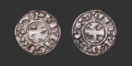 Odysseus Numismatique Monnaies Féodales BERRY - GIEN - GEOFFROY III DE DONZY • Denier
