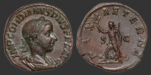 Odysseus Numismatique Monnaies Romaines GORDIEN III • Sesterce