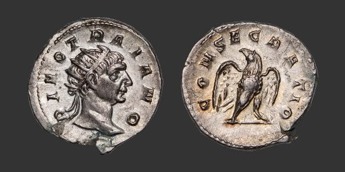 Odysseus Numismatique Monnaies Romaines DIVUS TRAJAN • Antoninien