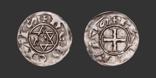 Odysseus Numismatique Monnaie Féodale BERRY - DÉOLS - RAOUL VII • Denier
