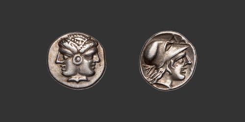 Odysseus Numismatique Monnaies Grecques MYSIE - LAMPSAQUE • Diobole